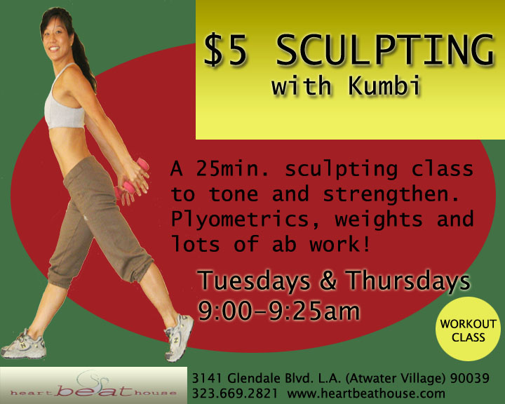 $5 Sculpting with Kumbi