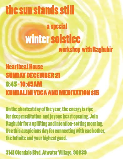 Kundalini Winter Solstice