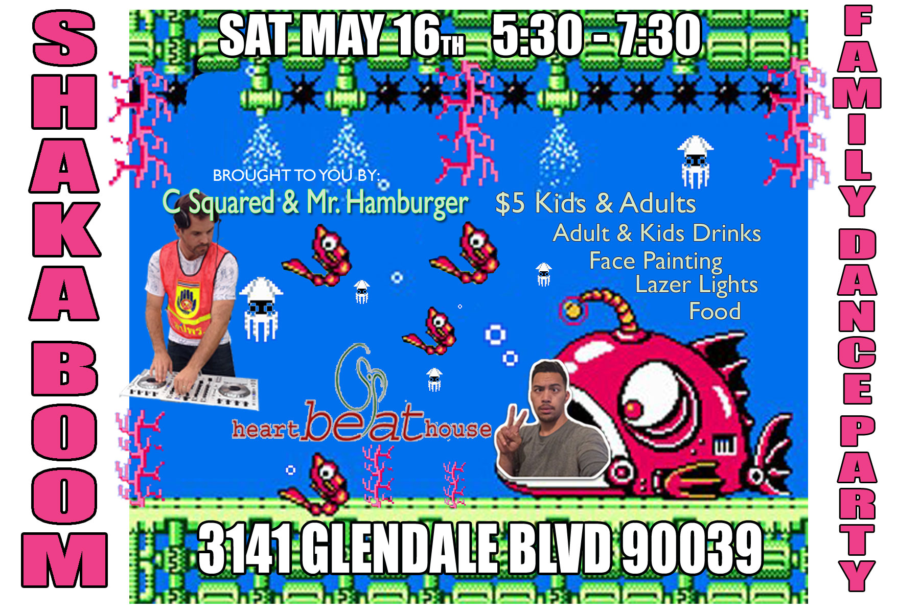 family dance party may 16