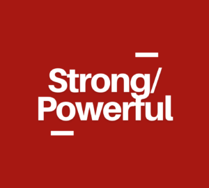 strong-powerful