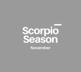 Scorpio season