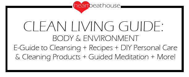 Clean Living Guide B&E Sign