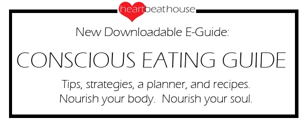 Conscious Eating Guide sign