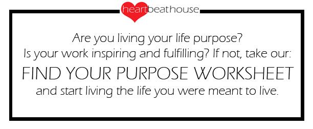 Purpose Worksheet Sign